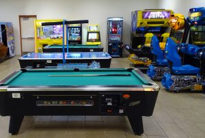 game room in pigeon forge hotel