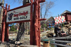 davy crockett mini golf