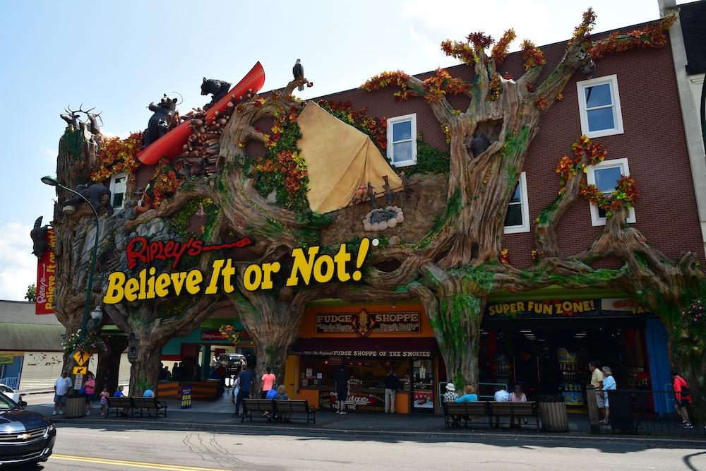 outside of Ripley's Believe It Or Not!