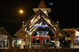 anakeesta sign at night