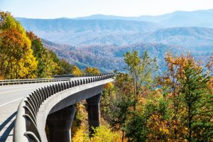 foothills parkway in the great smoky mountains